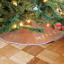 Personalised Christmas Tree Skirt
