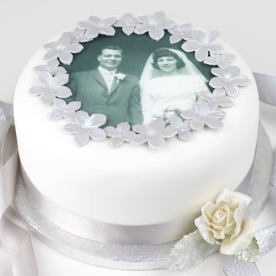 diamond wedding anniversary decorations. cake decorations 60th wedding anniversary : personalised decorating kit by diamond r