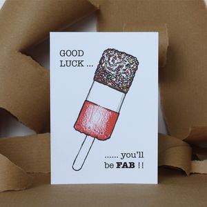 Fab Good Luck Card - good luck cards