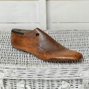 Vintage Wooden Shoe Last - door stops & draught excluders