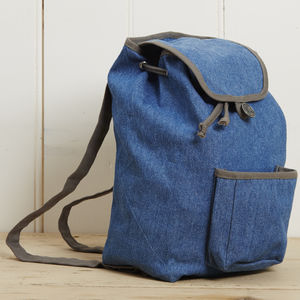 Denim Rucksack - boys' bags & wallets