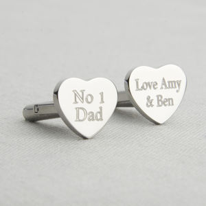 Father's Day Personalised Cufflinks