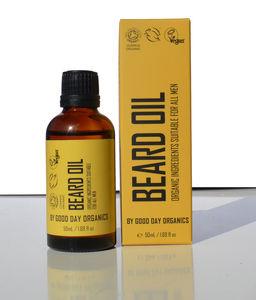 100% Pure Beard Oil | Certified Organic