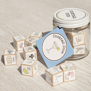 Cocktail Dice - gifts for friends