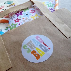 'Swag Bag' Stickers - kitchen