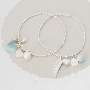Create Your Own Personalised Sterling Silver Bracelet - women's jewellery