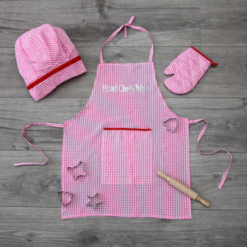 Girls Personalised Baking Set
