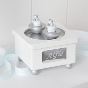 Personalised Boys Musical Box