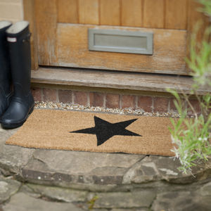 Large Star Door Mat - living room
