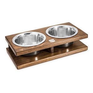 Grande Double Dog Bowl - food, feeding & treats