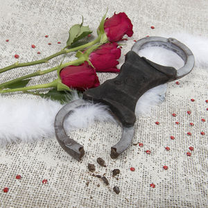 Chocolate Handcuffs - novelty chocolates