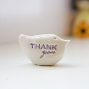 Thank You Gift Bird - decorative accessories