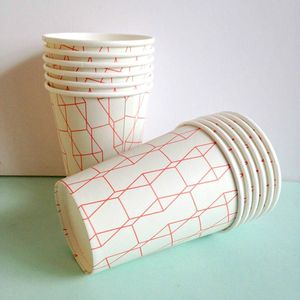 Harlequin Paper Party Cups