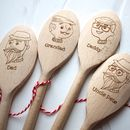 Father's Day Personalised Spoon
