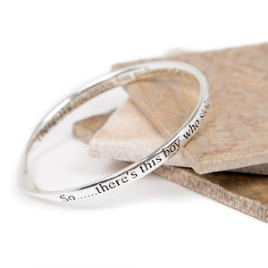 Mummy Message Bangle - bracelets & bangles