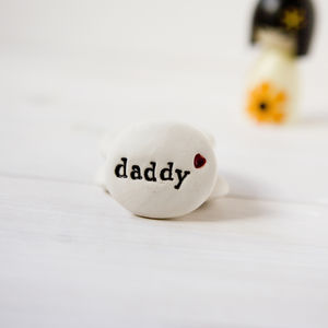 Daddy Gift Pebble Keepsake