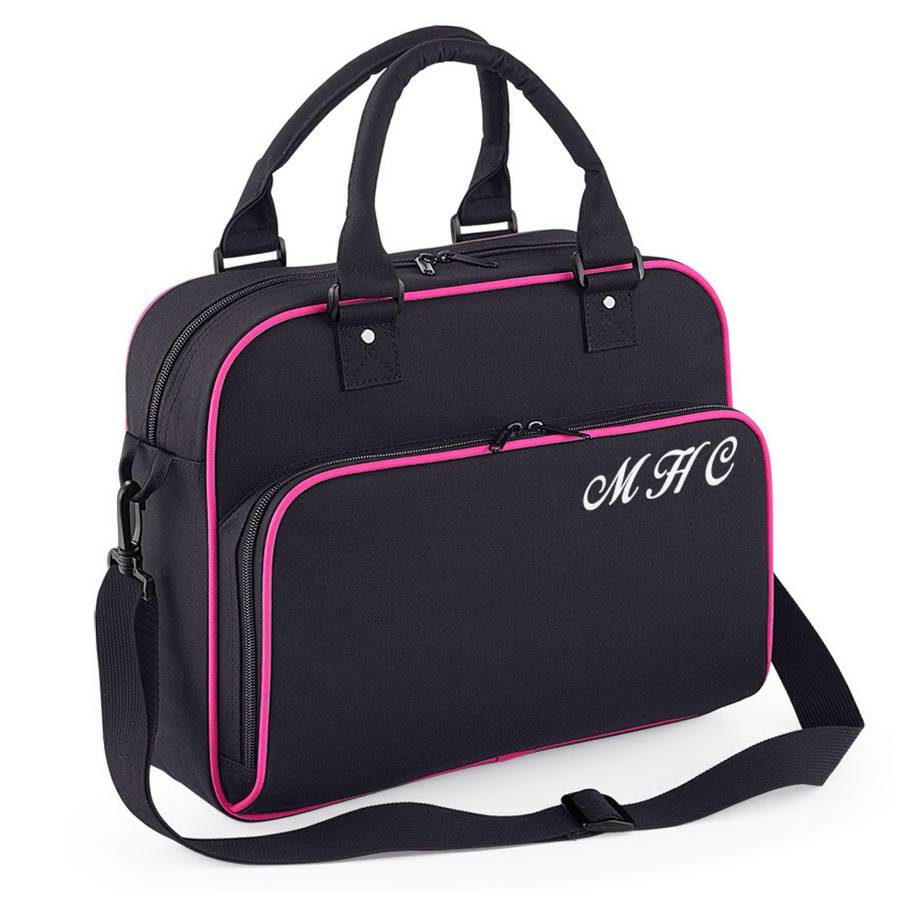 Personalised Retro Dance Gym Bag