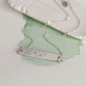 Silver Constellation Necklace - contemporary jewellery