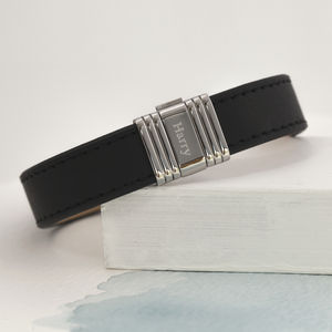 Personalised Men's Clip Bracelet