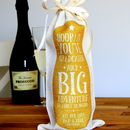 Personalised Graduation Bottle Bag