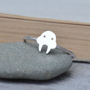 Walrus Ring In Sterling Silver - children's jewellery
