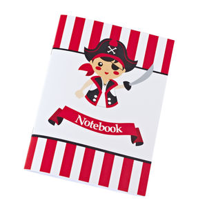 Pirate Notebook, Colouring Cards And Sticker Sheet