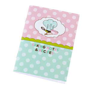 Baking Notebook, Colouring Cards And Sticker Sheet