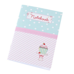 Cupcake Notebook, Colouring Cards And Sticker Sheet