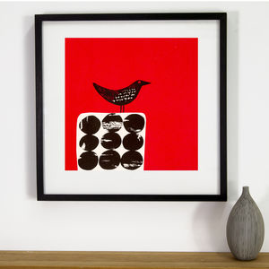 Black Bird Limited Edition Silkscreen Print