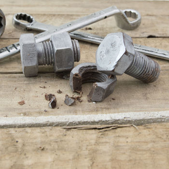 Chocolate Nut And Bolt