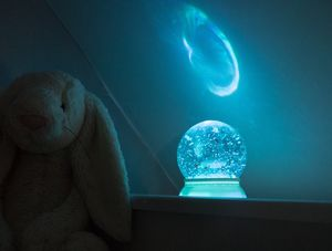 Children's Snowglobe Night Light - children's lights & night lights