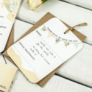 Country Bunting Wedding Invitation Bundle