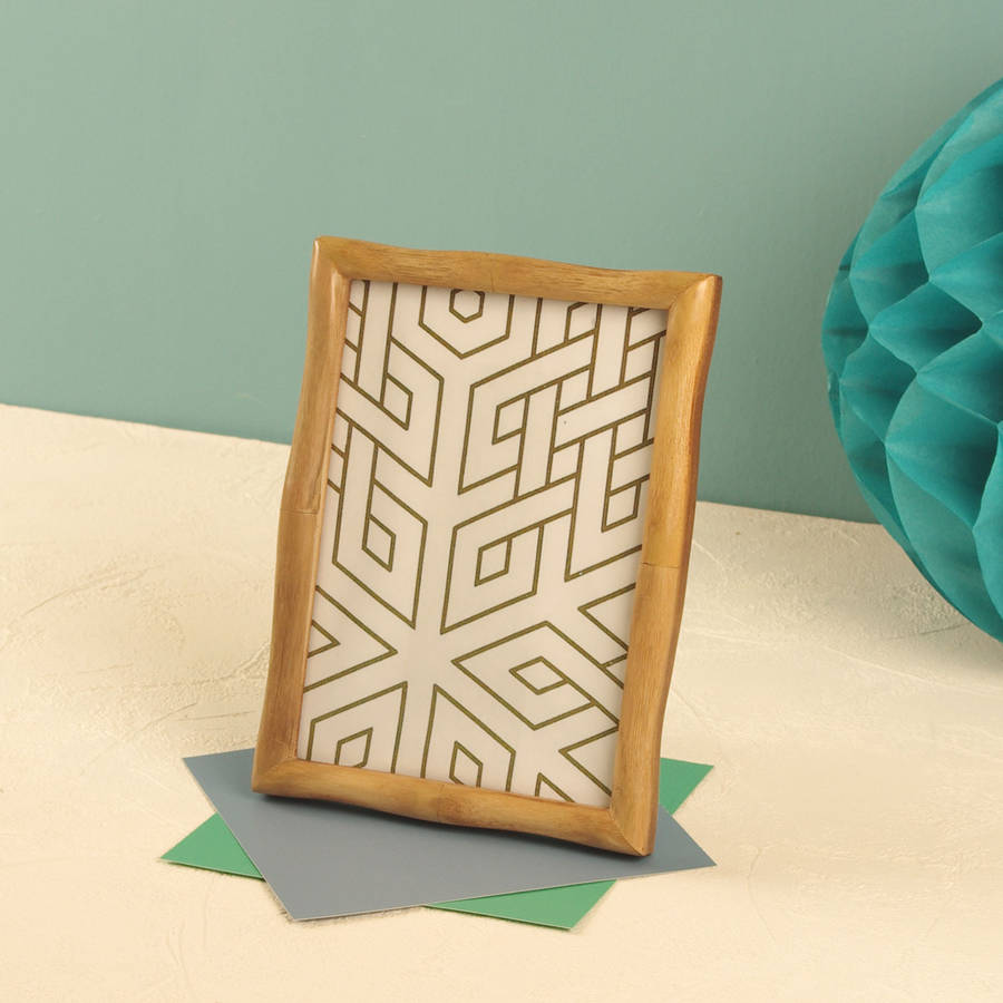 bamboo wood frame - photo #33