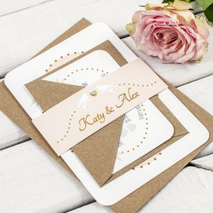Bird Wedding Invitation Bundle - wedding stationery