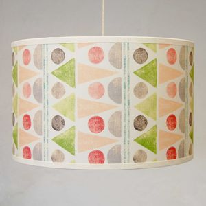 Summer Fair Pink Lampshade