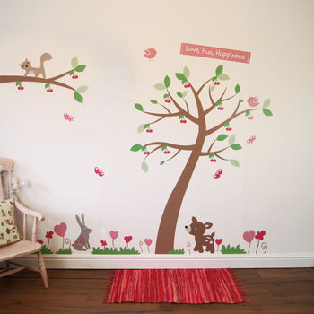 Cherry Tree Wall Stickers