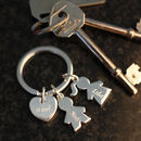 Personalised Children Keyring
