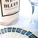 'Wine Bluff' Blind Wine Tasting Challenge