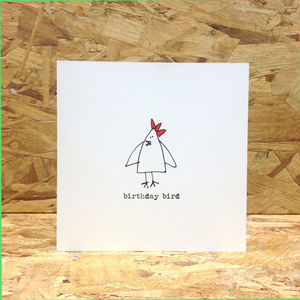 Birthday Bird Greetings Card
