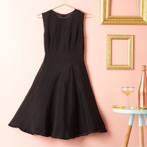 Sheer Panel Silk Organza Dress - dresses
