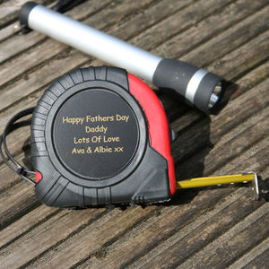 Personalised Tape Measure - gifts by interest