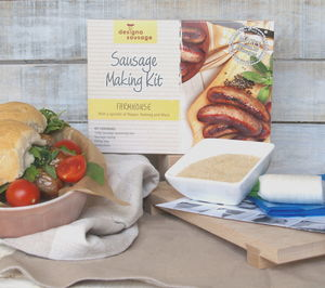 Farmhouse Style Sausage Making Kit - food & drink gifts under £25