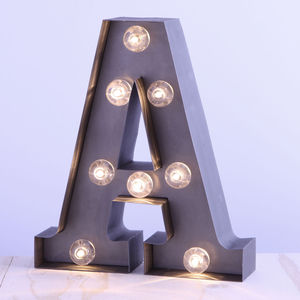 'A' LED Mini Carnival Light Battery Powered