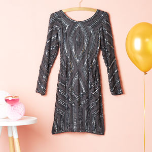Long Sleeve Sequin Cocktail Dress - our top picks