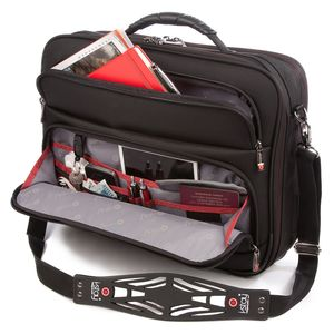 I Stay Fortis 15.Six Inch Tablet Clamshell Bag