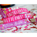 bachelorette party favour wristbands