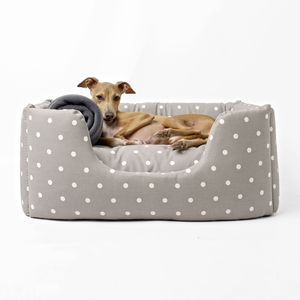 Deep Sided Luxury Dog Bed