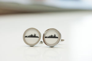 New York City Skyline Cufflinks