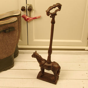 Cast Iron Horse Door Stop - office & study