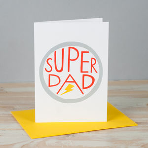 'Super Dad' Card